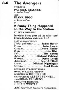 TV Times listing for A Funny Thing Happened On The Way To The Station.