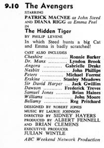 TV Times listing for The Hidden Tiger.