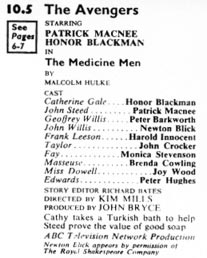 TV Times listing for The Medicine Men.