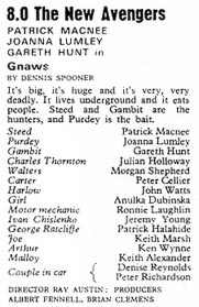 TV Times listing for Gnaws.