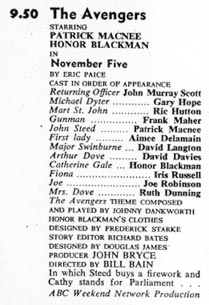 TV Times listing for November Five.