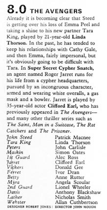 TV Times listing for The Super Secret Cypher Snatch.