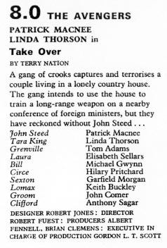 TV Times listing for Take Over.